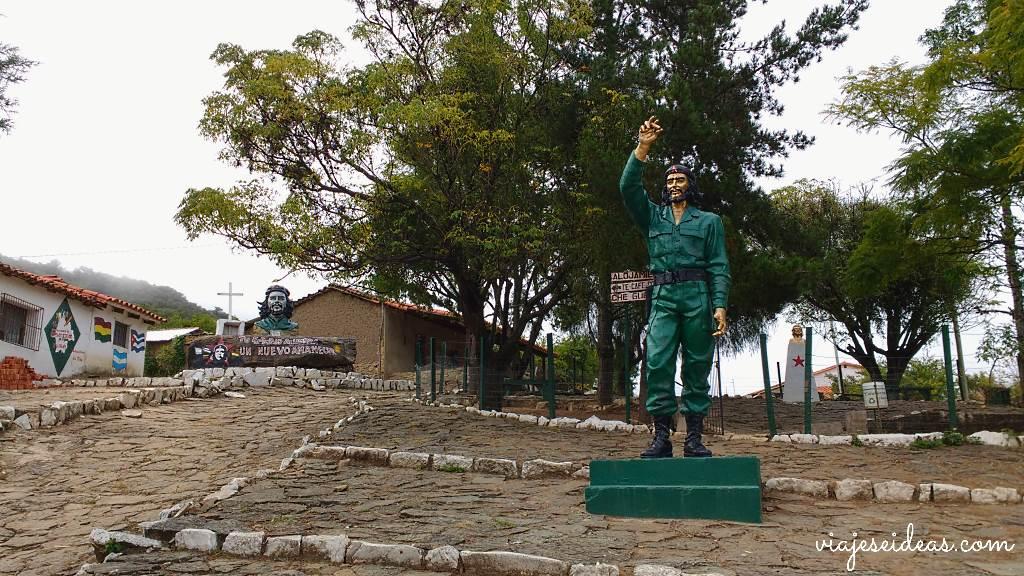 La Higuera, Ruta del Che