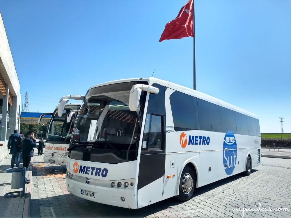 Viajar a Turquía, moverse en autobús